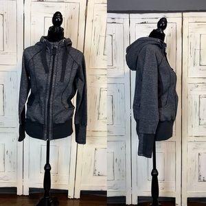 ReFlex Workout, Charcoal Grey/Black Zip-up Hoodie